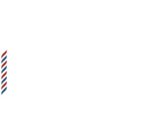 KULIK Barber Shop Logo